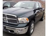 2011 Hunter Green Pearl Dodge Ram 1500 Big Horn Crew Cab 4x4 #47539491