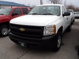 2011 Summit White Chevrolet Silverado 1500 Regular Cab 4x4 #47539495