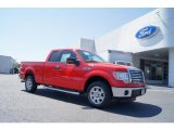 2011 Race Red Ford F150 XLT SuperCab #47539167