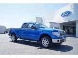 2011 Blue Flame Metallic Ford F150 XLT SuperCab #47539169