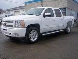 2011 Summit White Chevrolet Silverado 1500 LT Crew Cab 4x4 #47539051