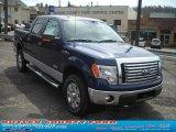 2011 Dark Blue Pearl Metallic Ford F150 XLT SuperCrew 4x4 #47539176