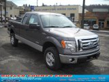 2011 Sterling Grey Metallic Ford F150 XLT SuperCab 4x4 #47539177