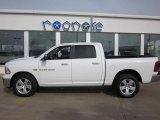 2011 Bright White Dodge Ram 1500 Lone Star Crew Cab 4x4 #47539186