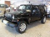 2011 Jeep Wrangler Unlimited Black