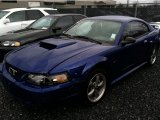 2003 Sonic Blue Metallic Ford Mustang GT Coupe #47539350