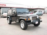 2006 Black Jeep Wrangler Unlimited 4x4 #4736299