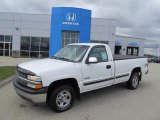 2001 Summit White Chevrolet Silverado 1500 LS Regular Cab 4x4 #47584766