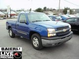 2004 Arrival Blue Metallic Chevrolet Silverado 1500 LS Regular Cab #47584070