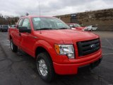 2011 Race Red Ford F150 STX SuperCab 4x4 #47584254