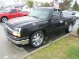 2004 Black Chevrolet Silverado 1500 LS Regular Cab #47584597