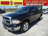 2003 Black Dodge Ram 1500 SLT Quad Cab #47584785
