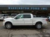2011 White Platinum Metallic Tri-Coat Ford F150 Platinum SuperCrew 4x4 #47584449