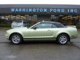 2005 Legend Lime Metallic Ford Mustang V6 Premium Convertible #47584452