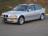 2001 Titanium Silver Metallic BMW 3 Series 325i Sedan #47584473