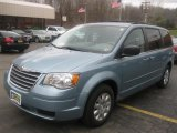 2010 Clearwater Blue Pearl Chrysler Town & Country LX #47584838