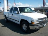 2002 Summit White Chevrolet Silverado 1500 LS Extended Cab 4x4 #47584150
