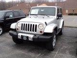 2011 Bright Silver Metallic Jeep Wrangler Sahara 4x4 #47584674