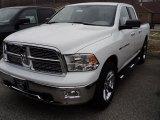 2011 Bright White Dodge Ram 1500 Big Horn Quad Cab 4x4 #47584685