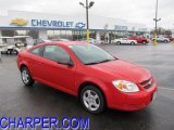 2007 Victory Red Chevrolet Cobalt LS Coupe #47584875