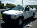 2011 Summit White Chevrolet Silverado 1500 Regular Cab #47584188