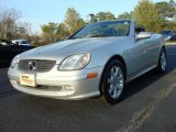 2001 Brilliant Silver Metallic Mercedes-Benz SLK 230 Kompressor Roadster #47584195