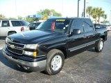 2006 Black Chevrolet Silverado 1500 LT Crew Cab #47635598