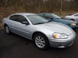 2002 Ice Silver Pearl Chrysler Sebring LX Coupe #47635814
