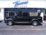 2010 Brilliant Black Crystal Pearl Dodge Ram 1500 TRX Crew Cab #47636051