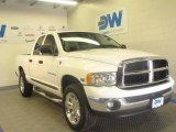 2003 Bright White Dodge Ram 1500 SLT Quad Cab 4x4 #47636061