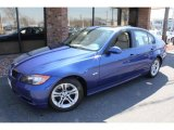 2008 Montego Blue Metallic BMW 3 Series 328i Sedan #47635638