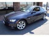 2008 Monaco Blue Metallic BMW 3 Series 328xi Coupe #47635640