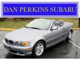 2004 Silver Grey Metallic BMW 3 Series 325i Convertible #47635424