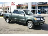 2005 Timberland Green Mica Toyota Tundra SR5 Double Cab 4x4 #47635446