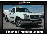 2003 Summit White Chevrolet Silverado 1500 Regular Cab #47636335