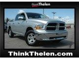 2009 Bright Silver Metallic Dodge Ram 1500 SLT Crew Cab 4x4 #47636343