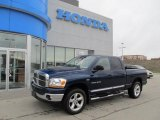 2006 Patriot Blue Pearl Dodge Ram 1500 SLT Quad Cab 4x4 #47635665