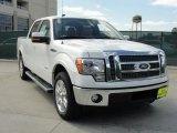 2011 White Platinum Metallic Tri-Coat Ford F150 Lariat SuperCrew #47635860