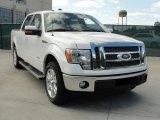 2011 White Platinum Metallic Tri-Coat Ford F150 Lariat SuperCrew #47635862
