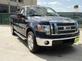 2011 Dark Blue Pearl Metallic Ford F150 Lariat SuperCrew #47635863