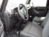 2011 Jeep Wrangler Call of Duty: Black Ops Edition 4x4 Black Interior