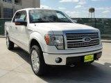 2011 White Platinum Metallic Tri-Coat Ford F150 Platinum SuperCrew 4x4 #47635865