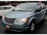 2010 Clearwater Blue Pearl Chrysler Town & Country LX #47636149