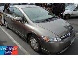 2007 Galaxy Gray Metallic Honda Civic Hybrid Sedan #47635894