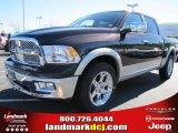 2011 Rugged Brown Pearl Dodge Ram 1500 Laramie Crew Cab #47635746