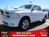 2011 Bright White Dodge Ram 1500 Sport Quad Cab #47635747