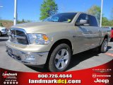 2011 White Gold Dodge Ram 1500 Big Horn Crew Cab 4x4 #47635748