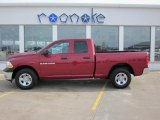 2011 Deep Cherry Red Crystal Pearl Dodge Ram 1500 ST Quad Cab 4x4 #47635771
