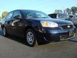 2007 Dark Blue Metallic Chevrolet Malibu LS Sedan #47636533