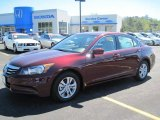 2011 Basque Red Pearl Honda Accord LX-P Sedan #47635968